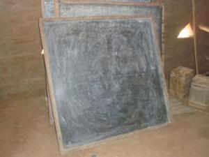 School blackboards at Wäramoth