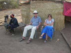 Henry and Lynda in South Sudan