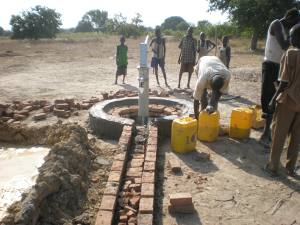 Building Mabok Bore Hole